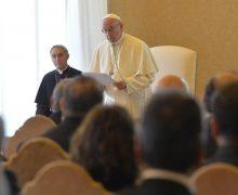Папа — участникам семинара «Этика в здравоохранении»