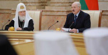 Президент Александр Лукашенко: в Минске против раскола Православия