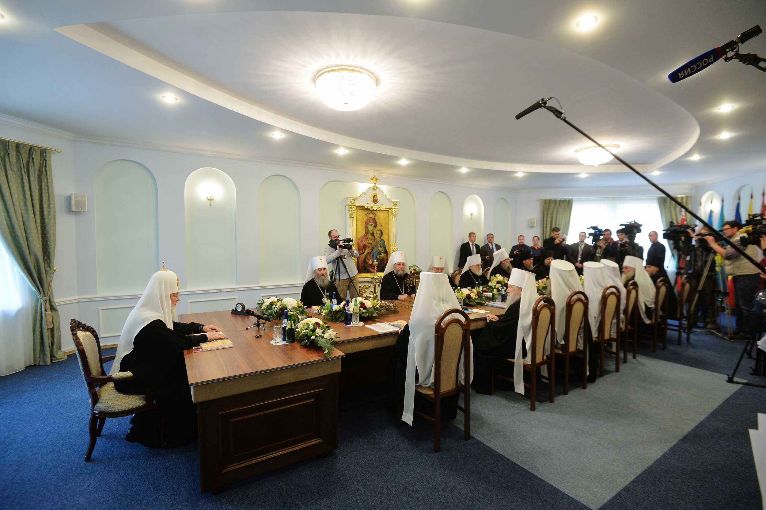 Священный Синод РПЦ признал невозможным дальнейшее пребывание в евхаристическом общении с Константинопольским Патриархатом