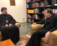 Управляющий приходами Московского Патриархата в Италии встретился с главой Папского Совета по содействию христианскому единству