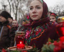 В годовщину Голодомора Папа помолился о мире на Украине