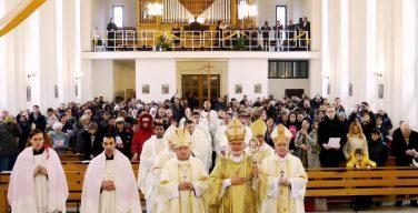 Владыка Иосиф Верт принял участие в праздновании 25-летия освящения храма в городе Марксе (+ ФОТО)