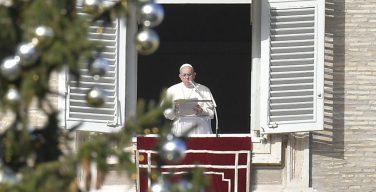 Слово Папы Франциска перед чтением молитвы «Ангел Господень» во 2-е воскресенье Адвента. 9 декабря 2018 г., площадь Св. Петра