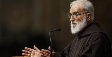 Раньеро Канталамесса: святой Франциск, человек слёз
